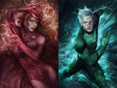 Who Are Our Parents Scarlet Witch and Quicksilver