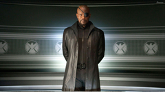 The Avengers Samuel L Jackson As Nick Fury In Black Dress Wallpapers