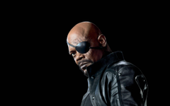samuel l jackson artwork marvel comics handguns nick fury the