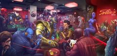 marvel comics winter soldier loki ultron magneto villains mystique