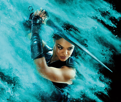Wallpapers Thor Ragnarok Valkyrie Tessa Thompson 4K Movies