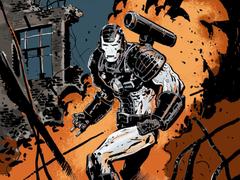 War Machine Ruins Hyper Combo Wallpaper