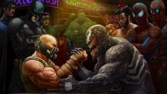 Bane Vs Venom HD Wallpapers 1920x1080