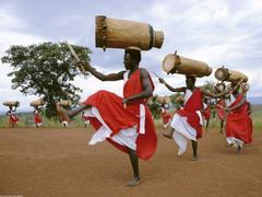 Gitaga Drummers Highlands of Burundi Africa