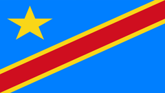Democratic Republic Of The Congo Flag UHD 4K Wallpapers