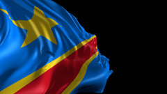Flag of Democratic Republic of Congo