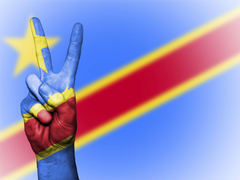 background banner colors congo congo democratic republic of the