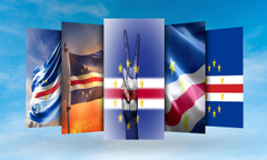 Cabo Verde Flag Wallpapers for Android