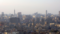 View of the apartment block in Cairo wallpapers and image
