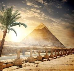 Wallpapers Egypt Cairo Nature Desert Sky Palma Pyramid