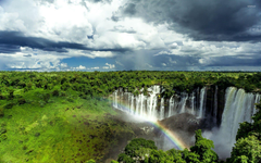 Kalandula Falls Angola wallpapers