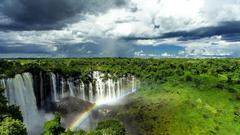 Wallpapers Tagged With Kalandula Falls Angola Forest Nature