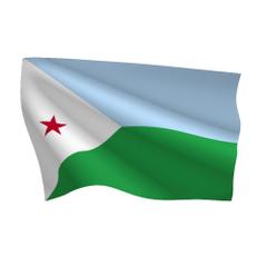 Graafix Flag of Djibouti