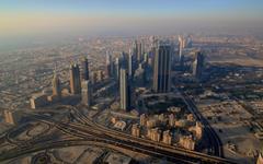 Dubai Aerial View wallpapers