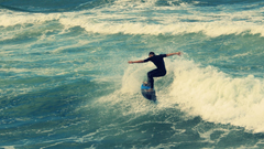 Surf Beach Surfing Wave Durban wave one person image