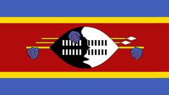 Eswatini Flag UHD 4K Wallpapers