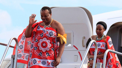 King of Swaziland changes his country s name to eSwatini