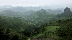 The beautiful Kosoye Mountains of Lalibela Ethiopia WQHD Wallpapers