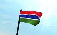 Gambia Flag Ukrobstep