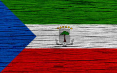 wallpapers Flag of Equatorial Guinea 4k Africa wooden