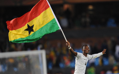 GHANA soccer africa