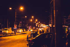 stock photo of lagos Nigeria street