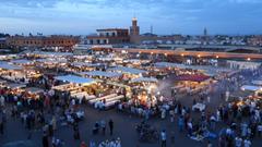File Djemaa el Fna Marrakech Morocco webm
