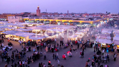 Timelapse on Jemaa el