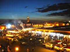 Marrakech Marrakesh Jemaa El Fna Djemaa El Fna