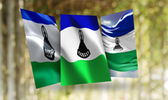 Lesotho Flag Wallpapers for Android