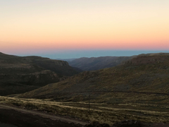 lesotho mountains shadows sunrise valley valleys 4k wallpapers