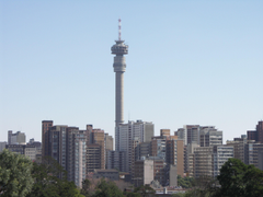 Skyscrapers Johannesburg South Africa Skyline City Architecture