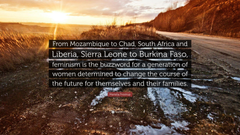Mariella Frostrup Quote From Mozambique to Chad South Africa and