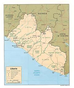 Liberia Maps