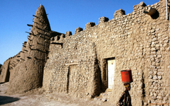 Mosque Timbuktu Mali Western Africa wallpapers