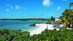 Beaches Tropical Sand Ocean Mauritius Lagoon Escape Indian Sea