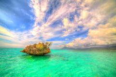 Oceans Paradise Beautiful Mauritius Water Cristal Sky Sunrise