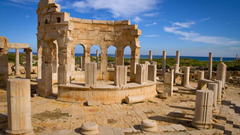 Ancient Leptis Magna Ruins Libya Tripoli Ancient Roman