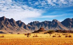Mountain Scenic Desert Namibia wallpapers