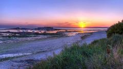 Sunset Mozambique Africa Design Cozy Peaceful Sun Vacation Calm
