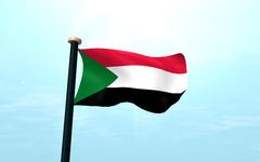Sudan Flag 3D Wallpapers