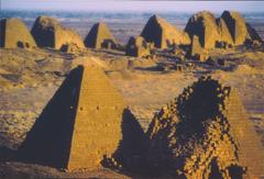 pyramids sudan