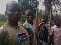 Arrow Boys near Yambio South Sudan