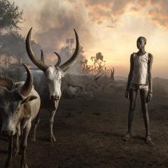 marcogrobYoung Man of the nomadic Mundari Tribe photographed near