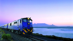 HD Train Leaving Table Mountain South Africa Wallpapers
