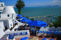 Sidi Tag wallpapers Cafe Sidi BouSaid Tunisia Africa Tunisie