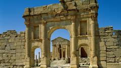 Ruins africa roman tunisia wallpapers