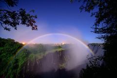 south africa border of zambia and zimbabwe river zambezi waterfall