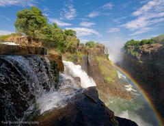nature rainbow waterfall victoria south africa zambia and zimbabwe