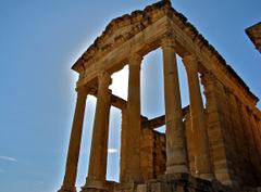 Tunisia Tag wallpapers Tunisia Ruins Africa Roman Old Full HD
